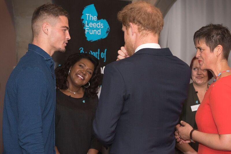 Mantality Meets Prince Harry